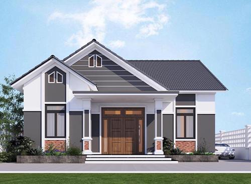 thiết kế nhà mái thái đẹp năm 2020