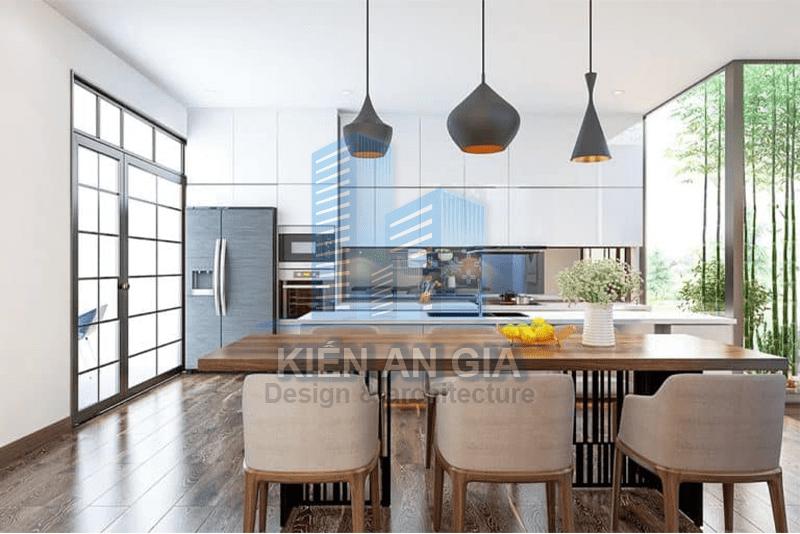 Thiết kế phòng bếp.