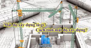 Mật độ xây dựng là gì