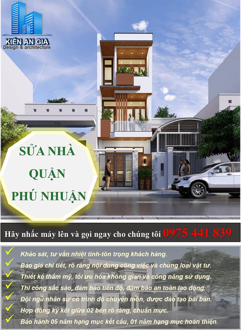 Dịch vụ sửa nhà quận Phú Nhuận.