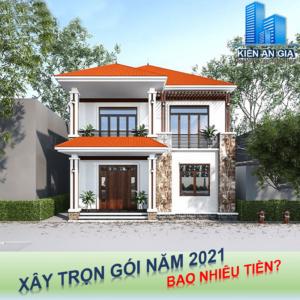 Báo giá xây nhà trọn gói năm 2021, Kiến An Gia cung cấp báo giá xây nhà trọn gói với đơn giá xây nhà cạnh tranh.