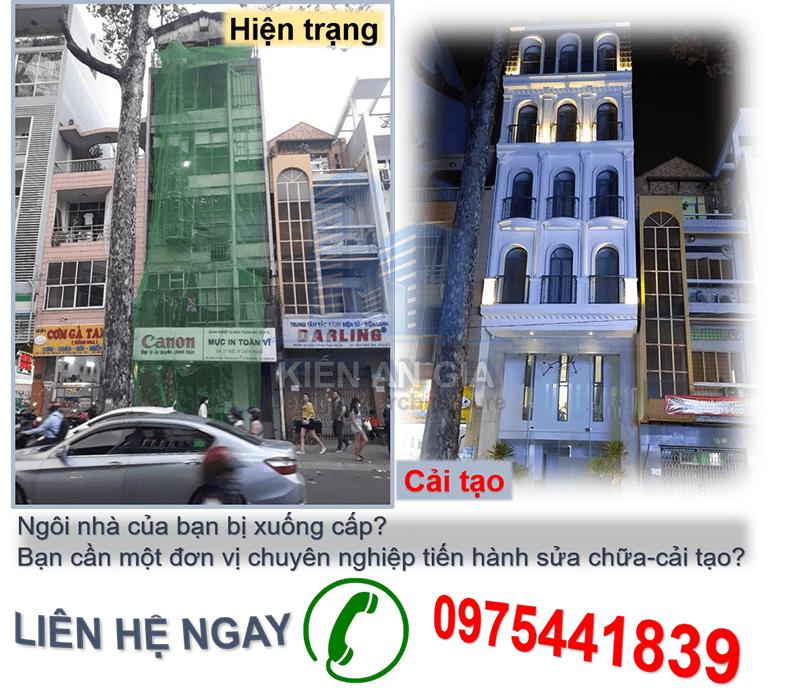 Dịch vụ cải tạo nhà cũ tại tphcm. công ty chuyên cải tạo nhà cũ.