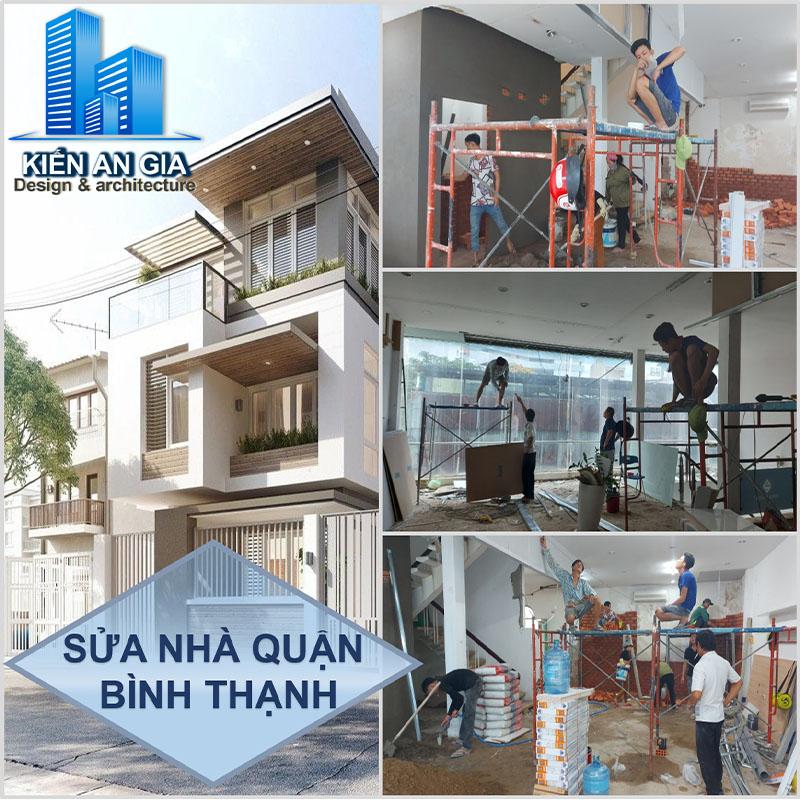 Dịch vụ sửa chữa nhà quận Bình Thạnh. Công ty sửa chữa nhà quận Bình Thạnh, báo giá sửa chữa nhà quận Bình Thạnh.