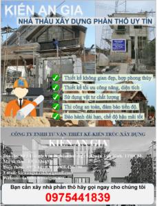 đơn giá xây nhà phần thô năm 2021