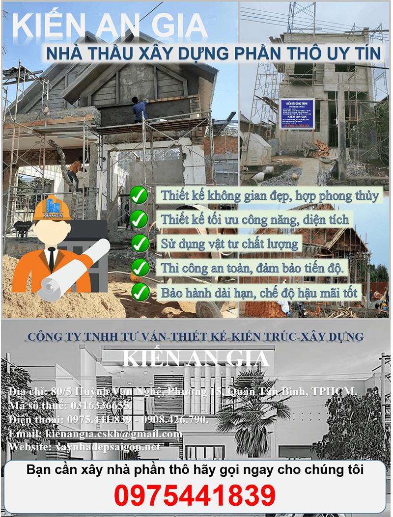 đơn giá xây nhà phần thô năm 2021, nhà thầu xây dựng phần thô uy tín và chất lưjợng.