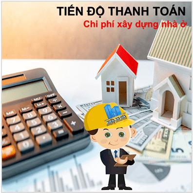 Tiến độ thanh toán tiền khi xây nhà
