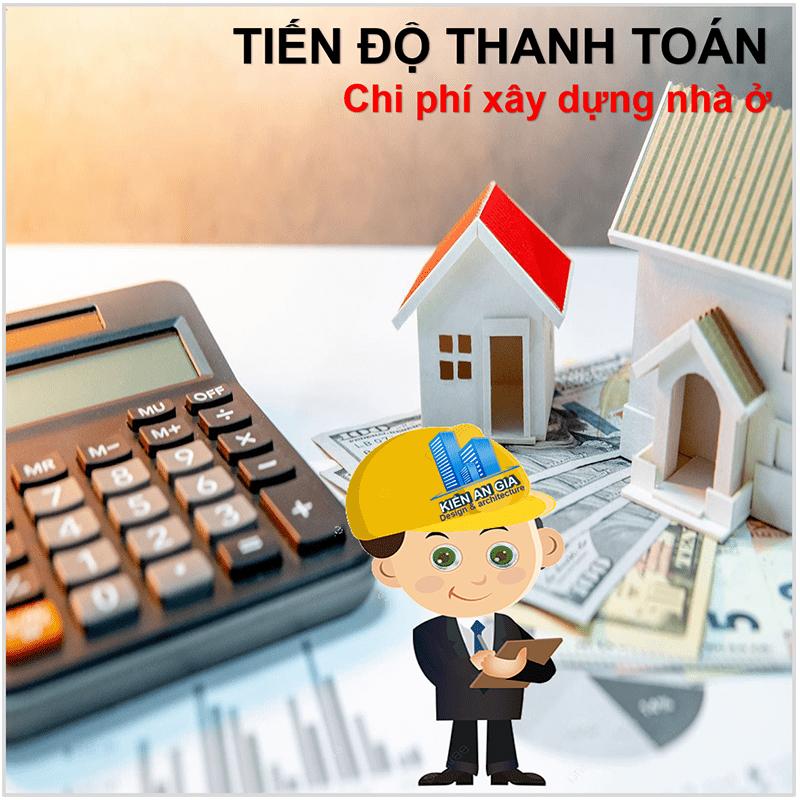 Tiến độ thanh toán khi xây nhà, giải ngân tiền khi xây nhà.